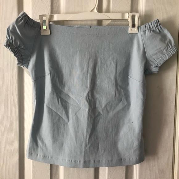 Zara Tops - Zara shoulder off top
